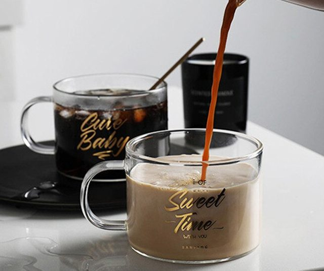 500 ml Transparent Glass Mug