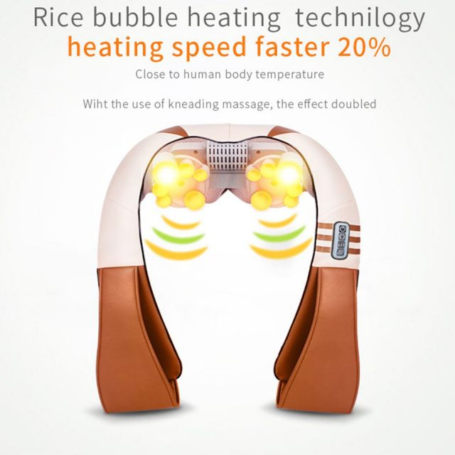 U Shape Electrical Heated Body Massager