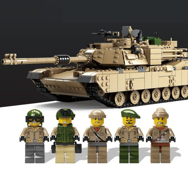 Tank Building Blocks Toy